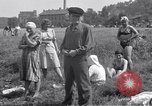 Image of displaced Russians Grimma Germany, 1945, second 36 stock footage video 65675032576