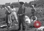 Image of displaced Russians Grimma Germany, 1945, second 37 stock footage video 65675032576
