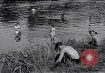 Image of displaced Russians Grimma Germany, 1945, second 39 stock footage video 65675032576