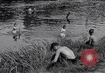 Image of displaced Russians Grimma Germany, 1945, second 41 stock footage video 65675032576