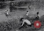 Image of displaced Russians Grimma Germany, 1945, second 42 stock footage video 65675032576