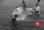 Image of displaced Russians Grimma Germany, 1945, second 50 stock footage video 65675032576