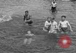 Image of displaced Russians Grimma Germany, 1945, second 55 stock footage video 65675032576