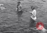 Image of displaced Russians Grimma Germany, 1945, second 60 stock footage video 65675032576