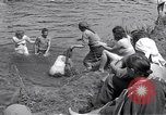 Image of displaced Russians Grimma Germany, 1945, second 62 stock footage video 65675032576