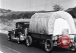 Image of Westward migration during Great Depression United States USA, 1933, second 16 stock footage video 65675032612