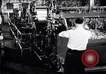 Image of textile workers union United States USA, 1950, second 31 stock footage video 65675032617