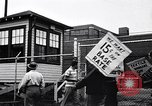 Image of textile workers union United States USA, 1950, second 15 stock footage video 65675032619