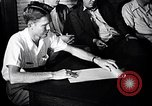 Image of textile workers union United States USA, 1950, second 57 stock footage video 65675032619