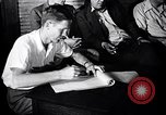 Image of textile workers union United States USA, 1950, second 58 stock footage video 65675032619