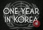 Image of UN General Assembly  Korea, 1950, second 3 stock footage video 65675032621