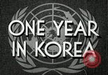 Image of UN General Assembly  Korea, 1950, second 5 stock footage video 65675032621
