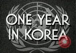 Image of UN General Assembly  Korea, 1950, second 9 stock footage video 65675032621