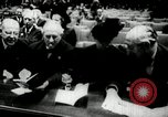Image of UN General Assembly  Korea, 1950, second 46 stock footage video 65675032621