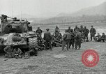 Image of U.S. tanks and 3rd infantry in Korean War Korea, 1951, second 13 stock footage video 65675032631
