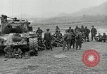 Image of U.S. tanks and 3rd infantry in Korean War Korea, 1951, second 14 stock footage video 65675032631