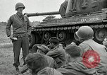 Image of U.S. tanks and 3rd infantry in Korean War Korea, 1951, second 18 stock footage video 65675032631
