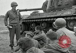 Image of U.S. tanks and 3rd infantry in Korean War Korea, 1951, second 20 stock footage video 65675032631