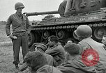 Image of U.S. tanks and 3rd infantry in Korean War Korea, 1951, second 21 stock footage video 65675032631