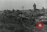 Image of U.S. tanks and 3rd infantry in Korean War Korea, 1951, second 42 stock footage video 65675032631