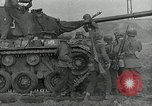 Image of U.S. tanks and 3rd infantry in Korean War Korea, 1951, second 45 stock footage video 65675032631
