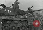 Image of U.S. tanks and 3rd infantry in Korean War Korea, 1951, second 46 stock footage video 65675032631