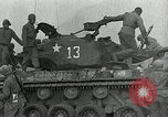 Image of U.S. tanks and 3rd infantry in Korean War Korea, 1951, second 47 stock footage video 65675032631