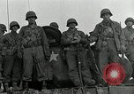 Image of U.S. tanks and 3rd infantry in Korean War Korea, 1951, second 53 stock footage video 65675032631