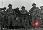 Image of U.S. tanks and 3rd infantry in Korean War Korea, 1951, second 54 stock footage video 65675032631