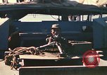 Image of Vietnamese Forces assault boats and armored cars Vietnam, 1970, second 39 stock footage video 65675032680