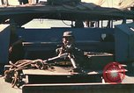 Image of Vietnamese Forces assault boats and armored cars Vietnam, 1970, second 40 stock footage video 65675032680