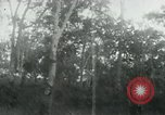 Image of Vietnamese people leaving a damaged Viet Cong camp Vietnam, 1965, second 54 stock footage video 65675032689