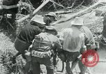Image of Viet Cong moving supplies in Jungles on bicycles Vietnam, 1967, second 4 stock footage video 65675032692