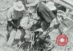 Image of Viet Cong moving supplies in Jungles on bicycles Vietnam, 1967, second 11 stock footage video 65675032692