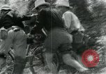 Image of Viet Cong moving supplies in Jungles on bicycles Vietnam, 1967, second 17 stock footage video 65675032692
