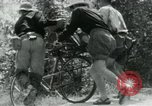 Image of Viet Cong moving supplies in Jungles on bicycles Vietnam, 1967, second 18 stock footage video 65675032692