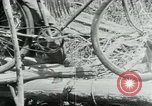 Image of Viet Cong moving supplies in Jungles on bicycles Vietnam, 1967, second 30 stock footage video 65675032692