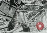 Image of Viet Cong moving supplies in Jungles on bicycles Vietnam, 1967, second 34 stock footage video 65675032692