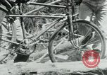 Image of Viet Cong moving supplies in Jungles on bicycles Vietnam, 1967, second 35 stock footage video 65675032692