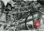 Image of Viet Cong moving supplies in Jungles on bicycles Vietnam, 1967, second 36 stock footage video 65675032692