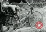 Image of Viet Cong moving supplies in Jungles on bicycles Vietnam, 1967, second 38 stock footage video 65675032692