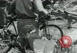 Image of Viet Cong moving supplies in Jungles on bicycles Vietnam, 1967, second 42 stock footage video 65675032692