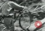 Image of Viet Cong moving supplies in Jungles on bicycles Vietnam, 1967, second 43 stock footage video 65675032692