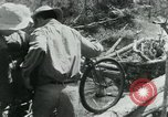 Image of Viet Cong moving supplies in Jungles on bicycles Vietnam, 1967, second 45 stock footage video 65675032692
