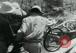 Image of Viet Cong moving supplies in Jungles on bicycles Vietnam, 1967, second 46 stock footage video 65675032692