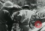 Image of Viet Cong moving supplies in Jungles on bicycles Vietnam, 1967, second 47 stock footage video 65675032692