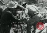 Image of Viet Cong moving supplies in Jungles on bicycles Vietnam, 1967, second 49 stock footage video 65675032692