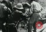 Image of Viet Cong moving supplies in Jungles on bicycles Vietnam, 1967, second 52 stock footage video 65675032692