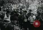 Image of Vietnamese families carrying food and supplies into Viet Cong camp in  Vietnam, 1965, second 21 stock footage video 65675032697