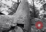 Image of Airliner wreckage Bethel Connecticut USA, 1934, second 19 stock footage video 65675032721